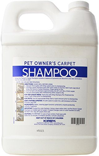 KIRBY Genuine 237507S Pet Owners Foaming Carpet Shampoo (Lavender Scented) Use with SE2 Sentria 2 G11, Sentria SE G10 G9, DE G8 Diamond Edition, ULTG G7, G6 G2001, G5, G4, G3,Legend, Heritage Tradition, Classic (1 Gallon) by Kirby (Image #2)