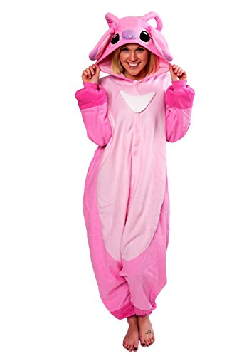 Angel Kigurumi (Adults) (Angel And Stitch Costumes)