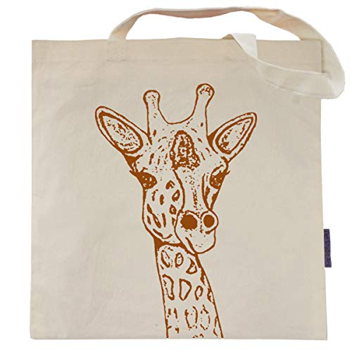 The Giraffe Tote Bag by Pet Studio Art