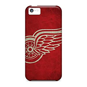 New Premium Flip Cases Covers Detroit Red Wings Skin Cases For Iphone 5c