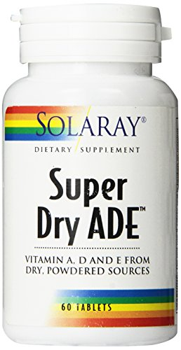 Solaray Ade Super Dry Supplement, 60 Count