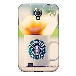 For Galaxy S4 Fashion Design Starbucks Case-KVs1217vSlK