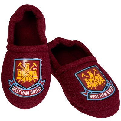 d9c19a76ce05 West Ham United FC Slippers Size 10 - Kids  Amazon.co.uk  Kitchen   Home