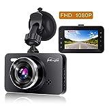 Pathinglek Mini Dash Cam 1080P FHD Car Dashboard Camera 3 inch Car Driving