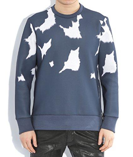 wiberlux-neil-barrett-mens-cow-pattern-sweatshirt-side-zipper-l-dark-blue