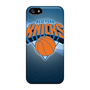 CharlesPoirier Iphone 5/5s Protector Hard Phone Cover Custom Vivid New York Knicks Pattern [qgw18133KHvc]