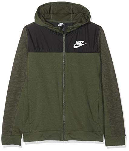 Nike B NSW Hoodie FZ Advance Felpa amazon neri Felpe con