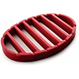 NORPRO Nor-405 Red Oval Silicone Roast Rack