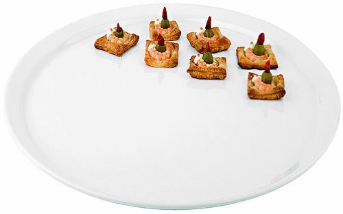 Aps Paderno World Cuisine Round White Melamine Platter, 20-Inch by World Cuisine