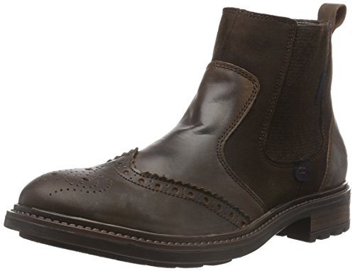 Oscar Shaft Boots Short 275 and 21 Braun Bootees Seibel Men's Warm Ocean Brown Josef Lined Moro 5qS4f0xpw