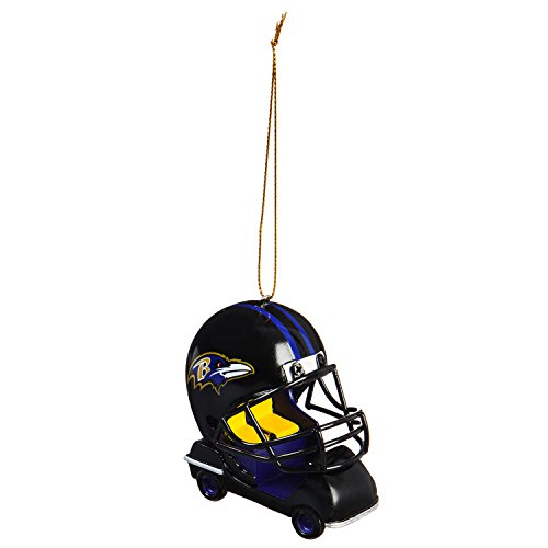 Baltimore Ravens Vintage Field Cart Team Ornament ()