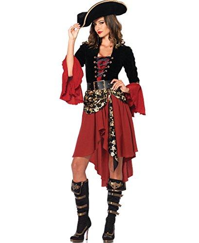 Cruel Seas Captain Adult Costume - (Sea Wench Costumes)