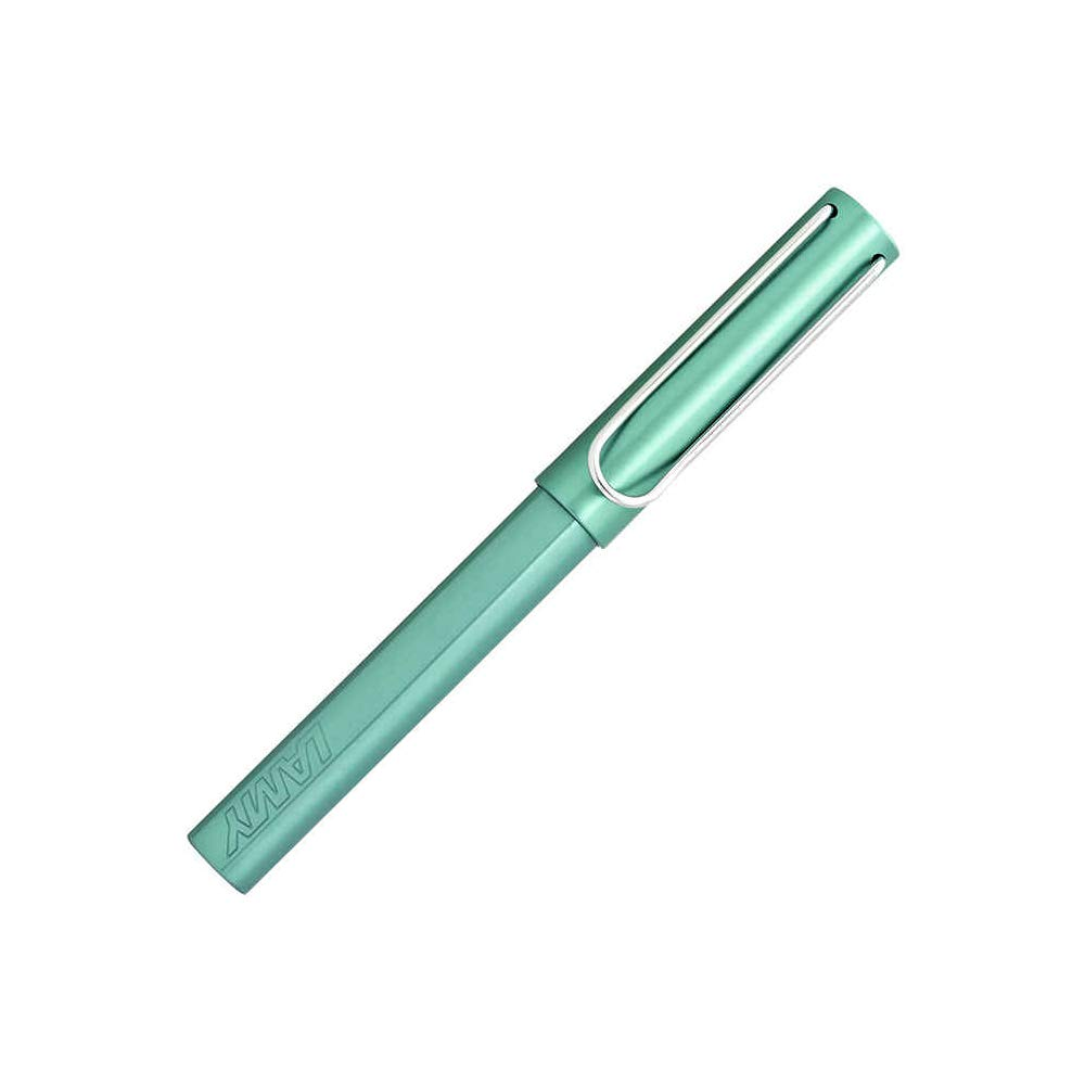 LAMY Blue-Green AL-star Fountain Pen with Fine Nib and Blue Ink (L32F) by Lamy (Image #1)