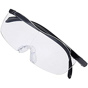 9271f72d8a 2Pcs Plastic Glasses 1.6X Magnifying Presbyopic Eyewear Makes Everything  Bigger and Clearer