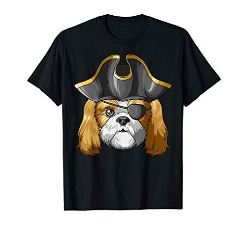 Pirate Shih Tzu Pirates Hat Shih Tzu T-Shirt