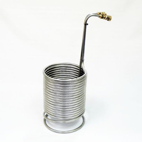 1/2'' X 50' Stainless Steel Wort Chiller / Heat Exchange Coil by NY Brew Supply