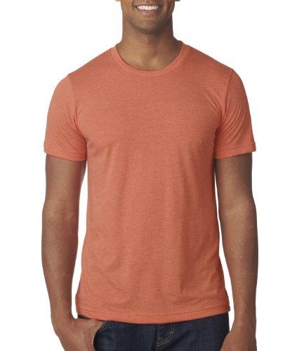 Canvas 3413 Unisex Triblend Short-Sleeve T-Shirt, Orange, Extra Large