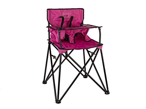 Ciao! Baby Portable High Chair with Carrying Case, Pink JamberlyGroup Inc. HB2015