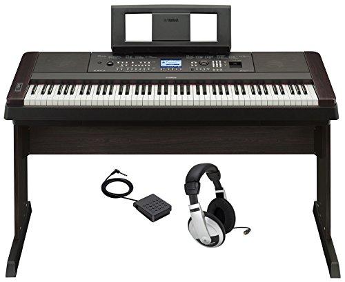 Yamaha DGX650B Digital Piano (Black) - 1