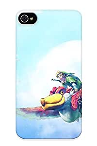 Tpu Mooseynmv Shockproof Scratcheproof The Legend Of Zelda Skyward Sword Hard Case Cover For Iphone 4/4s