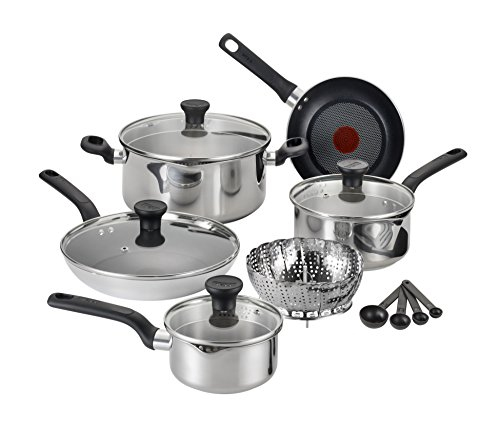 t-fal-c911se-excite-stainless-steel-dishwasher-safe-oven-safe-ptfe-pfoa-free-cookware-set-14-piece-s