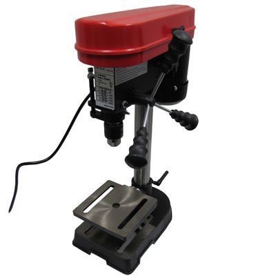 Mini Drill Press 5 Speed Adjustable Work Bench Drill Press with Tilting Table by EZ Travel Collection