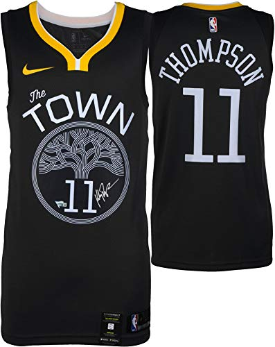 Klay Thompson Golden State Warriors Autographed Black Nike Swingman Statement Edition Jersey - Fanatics Authentic Certified