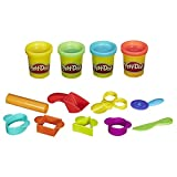 Play-Doh Starter Set 9 Tools And 4 Colors