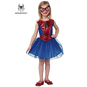 - 41clRXGS8KL - Rubie's Marvel Universe Classic Collection Spider-Girl Costume