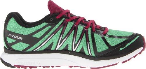 Salomon X TOUR W Zapatillas para Correr City Trail Running Verde Negro para Mujer Contagrip