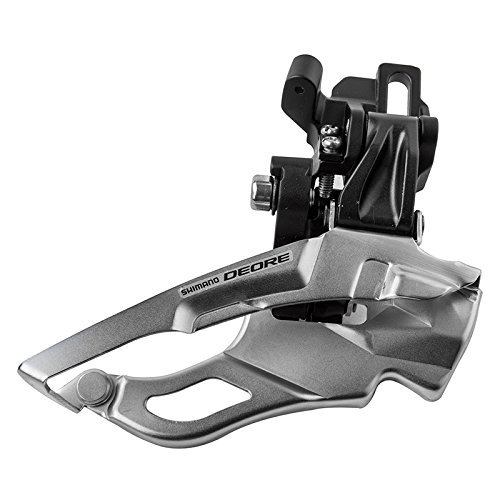 SHIMANO FD-M611 Down Swing 3x10-Speed Deore Direct Mount Front Derailleur, Black