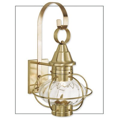 - Norwell Lighting 1612-GM-PR New Vidalia Onion - One Light Outdoor Medium Wall Mount, Glass Options: Prismatic Glass, Choose Finish: GM: Gun Metal