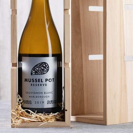 Wooden Wine Rack & New Zealand White Wine Gift - 1 bottle - Laithwaites Wine