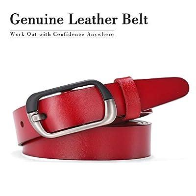 Ladies Leather Belt,Fashion Belt for Woman Vintage Leather Reversible Belt Pants Jeans Dresses Belt Plus Size 3XL