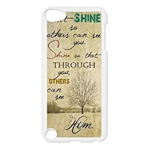 Custom Life Inspirational Quotes Ipod Touch 5 Cover Case, Life Inspirational Quotes Customized Phone Case for iPod Touch5 at Lzzcase