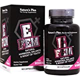 Nature's Plus - E-Fem, Natural Hormonal Balance & Boost of Youth, 60 Caps offers
