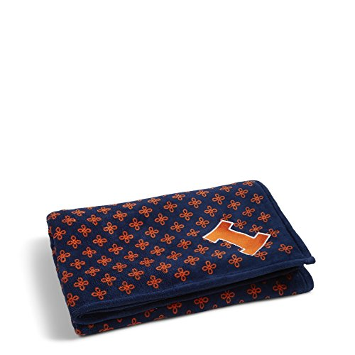 - Vera Bradley NCAA Illinois Illini Women's Throw Blanket, Navy/Orange, X-Large