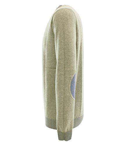 A103306-118 - Maglione reversibile misto cashmere - Uomo