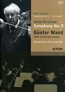"Gunter Wand: Franz Schubert - Symphony No. 8 ""Unfinished""/Anton Bruckner - Symphony No. 9"