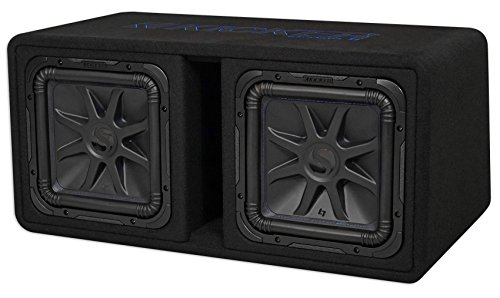 Kicker 12″ 3000W Dual Loaded Solo-Baric L7S Subwoofer Enclosure | 44DL7S122