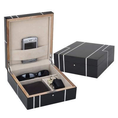Reed & Barton Metropolitian Men's Jewelry Valet Chest