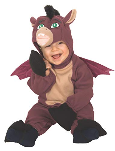 Shrek Romper And Headpiece Dronkey, Newborn -