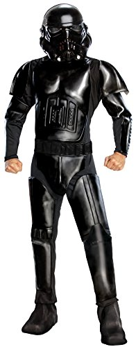 Star Wars Adult Deluxe Shadow Trooper Costume, Black, Standard