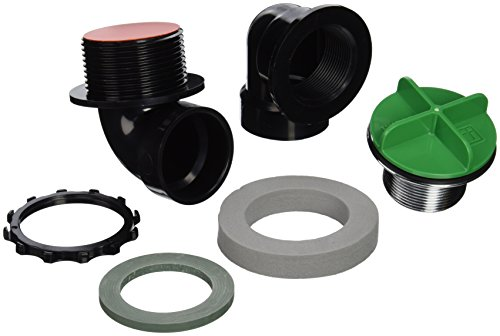 Watco Manufacturing 901-PPRI-ABS-CP 1.5-Inch Schedule 40 ABS Piping Rough-In Innovator Push Pull Bath Waste Half Kit, Chrome ()