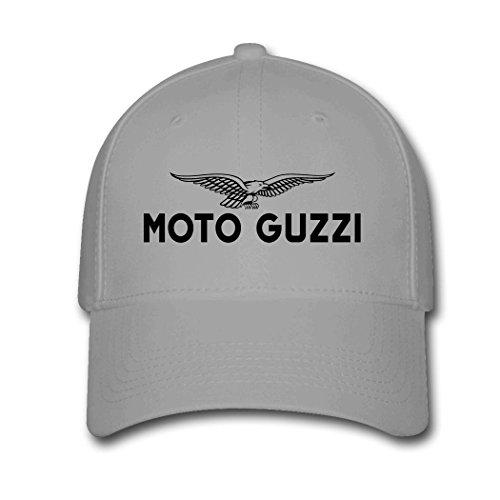 JUY New Style Custom Moto Guzzi Motorcycle Logo Adjustable Baseball Cap