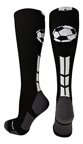 MadSportsStuff Soccer Ball Logo Over the Calf Socks (a number of colours) – DiZiSports Store