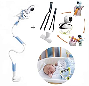 Universal Camera Holder Stand Flexible Video Monitor Stand For Baby Cradle Crib