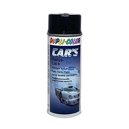 Dupli Color 385865 Spray de Pintura para Coches, Color Negro Brillante, 400 ml
