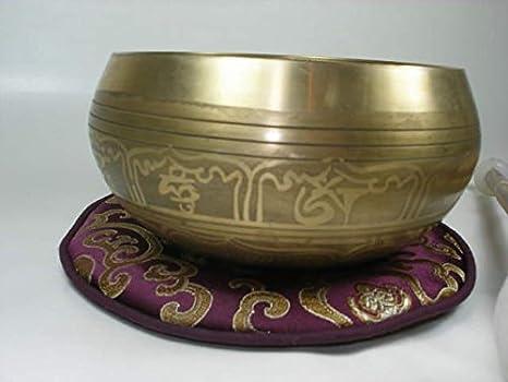 Gold Edition Set 5Tlg Bronze Klangschale ca.900 gr