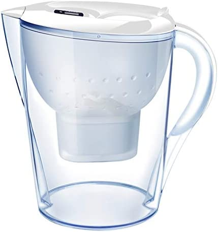 Jarra de filtro de agua y cartucho con filtros de agua alcalina ...
